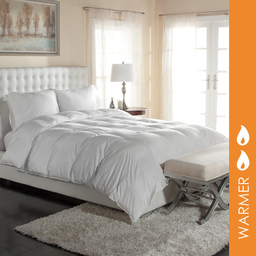 PRIMALOFT® 400 TC PIMA COTTON SATEEN COMFORTER - Home Goods Galore