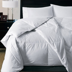 300 TC WHITE GOOSE DOWN ALTERNATIVE SILKY SOFT COMFORTER - Home Goods Galore