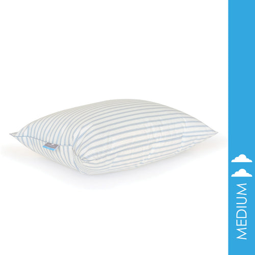 OLD FASHION GRANNY STRIPE 10/90 FEATHER PILLOW - Home Goods Galore