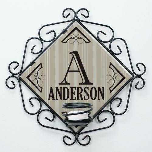 Personalized Family Candle Holder - Home Goods Galore