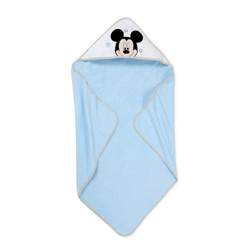 Blue Mickey Mouse Kids Hooded Towel Premium Cotton