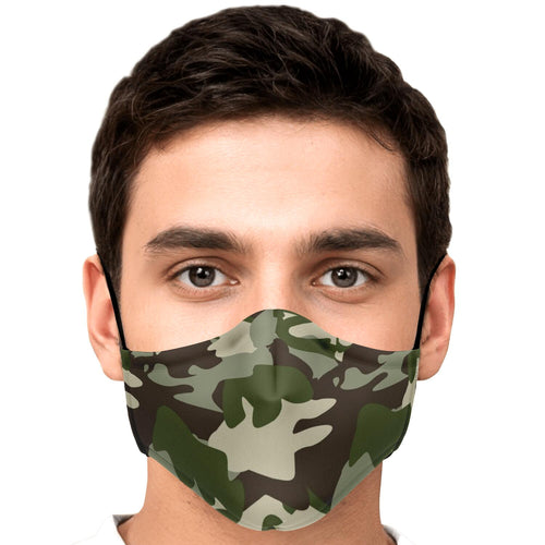 Face Mask -camouflage