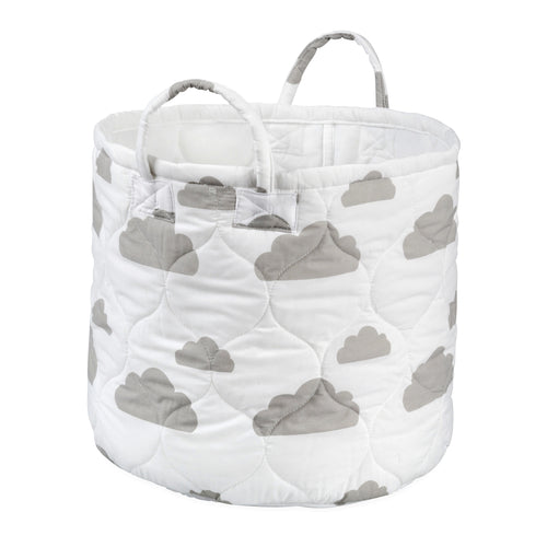 Foldable Gray Cloud Storage Bin Closet Toy Box Container Organizer Fabric Basket