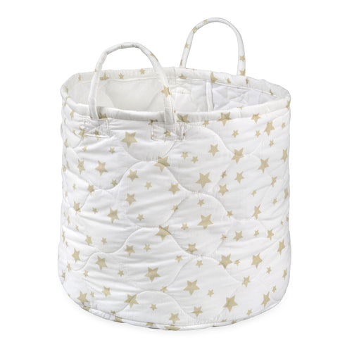 Foldable Gold Stars Storage Bin Closet Toy Box Container Organizer Fabric Basket