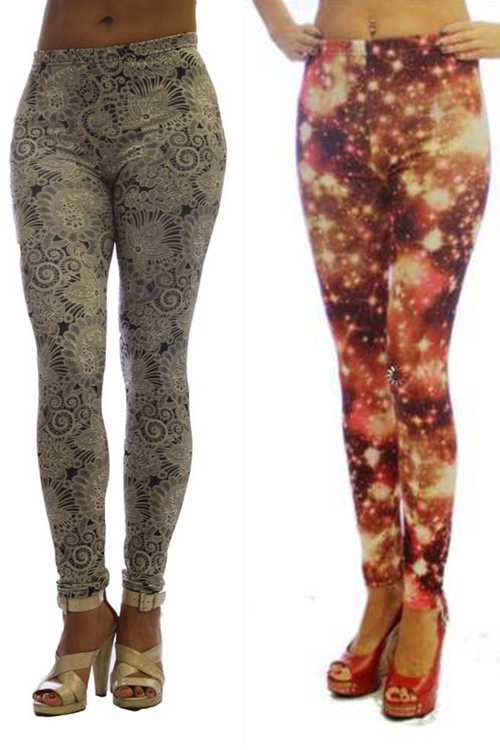 Women's Fashion Print Leggings