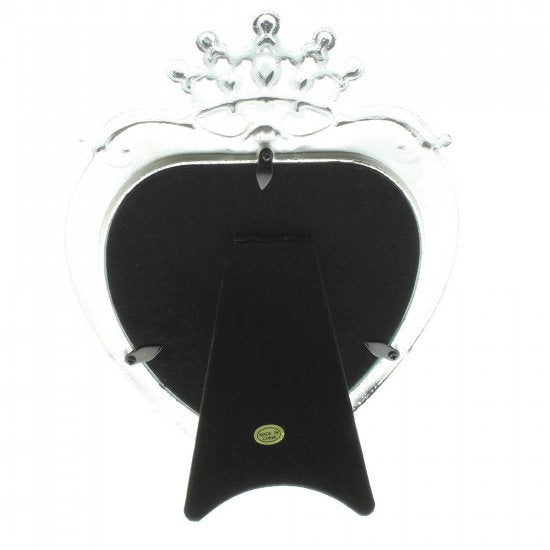Princess Crown Heart Frame - 5x5