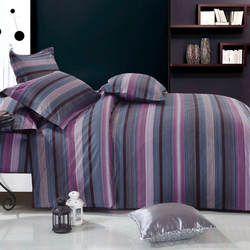 Vineyard Dream 100% Cotton 4PC Comforter Cover/Duvet Cover Combo Full Size - Home Goods Galore