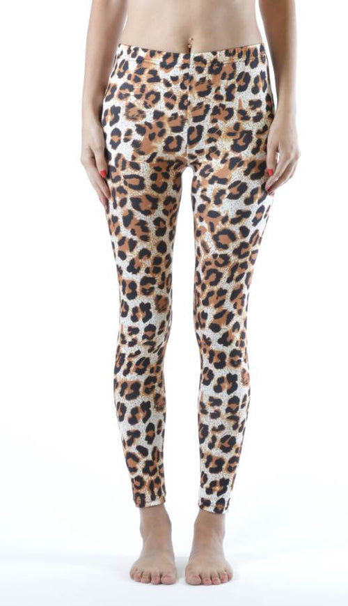 Cheetah Print Leggings - Home Goods Galore