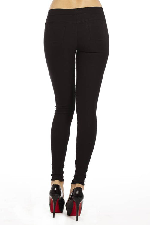 High Waisted Black Leggings - Home Goods Galore