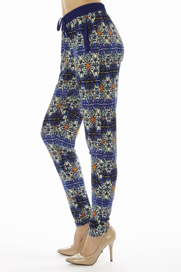 Geometric Print Soft Pants - Home Goods Galore