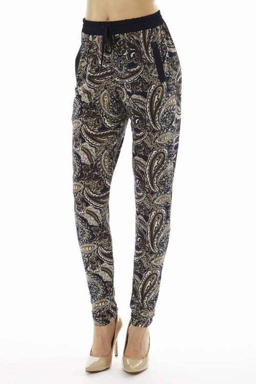 Paisley Print Jogger Pants - Home Goods Galore