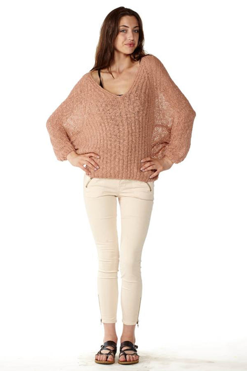 Batwing Pullover Sweater - Home Goods Galore