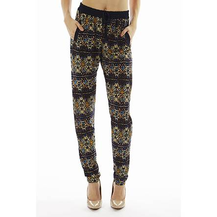 Geometric Print Joggers - Home Goods Galore