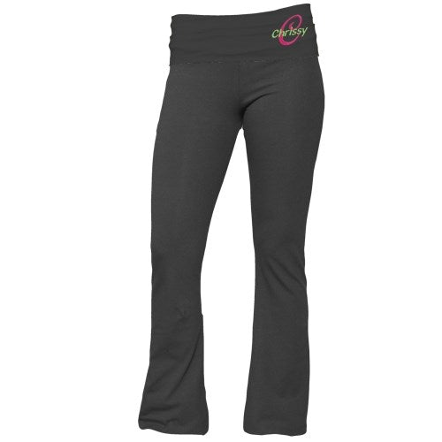 Embroidered Ladies Yoga Pants - Home Goods Galore