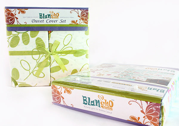 Blancho Bedding - [Springtime] Luxury 7PC Bed In A Bag Combo 300GSM (Full Size)