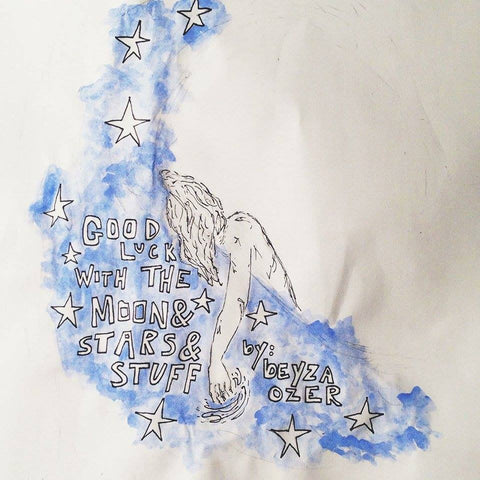 GOOD LUCK WITH THE MOON & STARS & STUFF, by Beyza Ozer