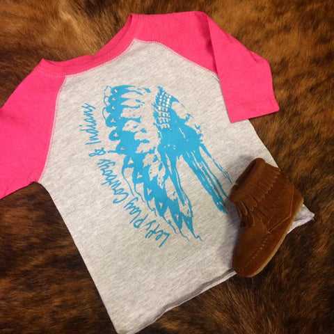 Cowboys and Indians Toddler Tee