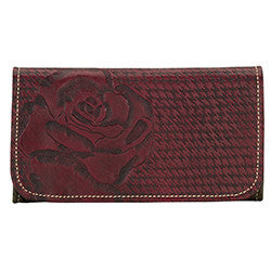 Coming up Roses Ladies' Tri-Fold Wallet