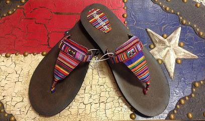 Arizona Stripe Flip Flop
