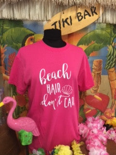 Beach Hair Don't Care Tee