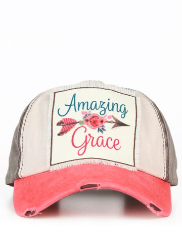Amazing Grace Patch Cap