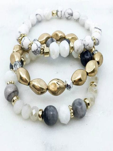 Angel Trio Bracelet Set