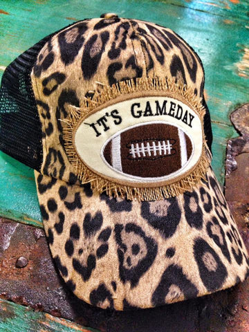 Leopard Game Day Cap