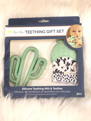 Cactus Teething Gift Set