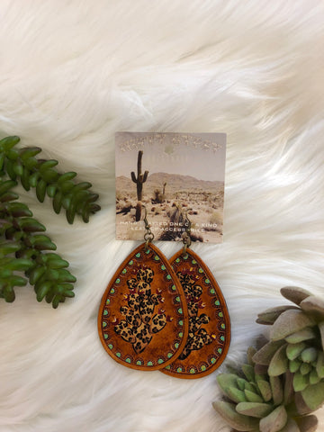 BWR Leopard Loco Earrings