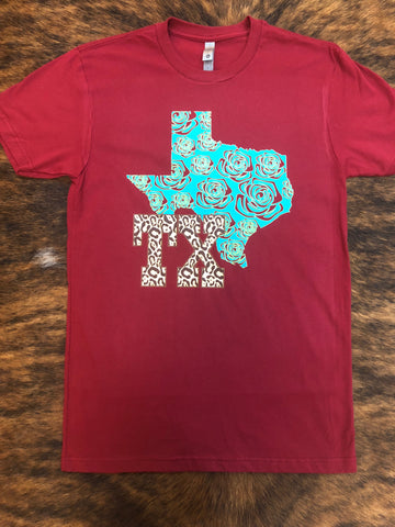 Texas Bloom Tee