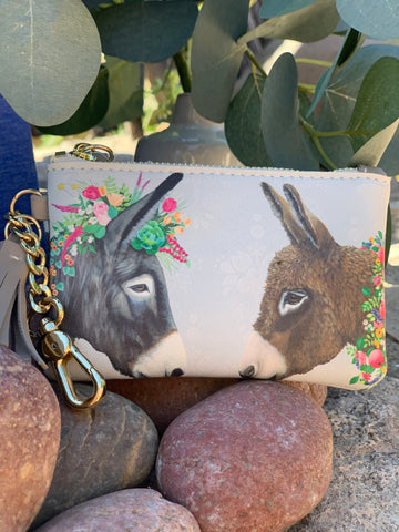 Donkey Coin Purse/Keychain