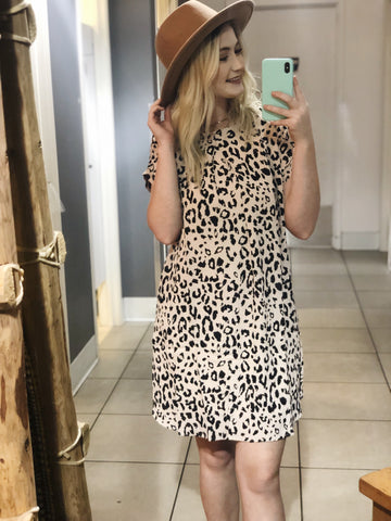 Run Away Leopard Dress