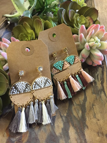 Tassel Nights Earrings