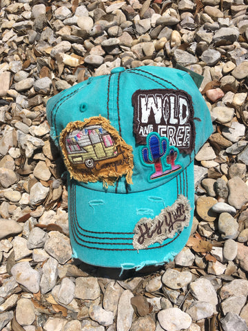 Wild and Free Camper Cap