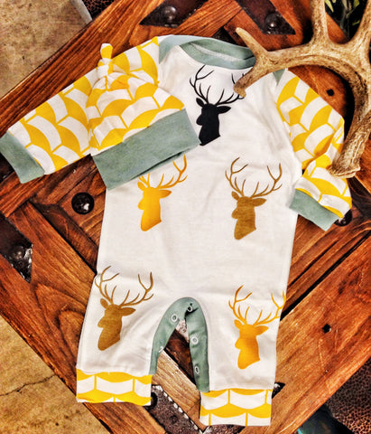 Lil Boys Deer Outfit