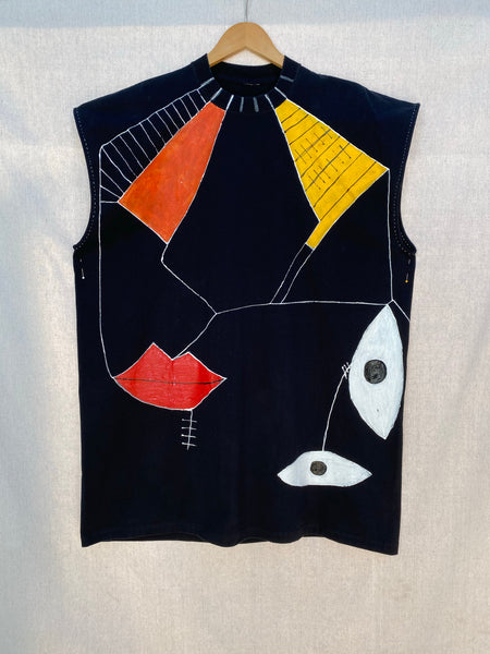 ARTIST COLLAB - OVERSIZED SLEEVELESS TEE I