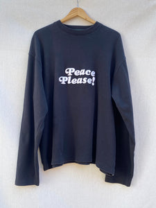 PEACE PLEASE! LONG SLEEVE TEE