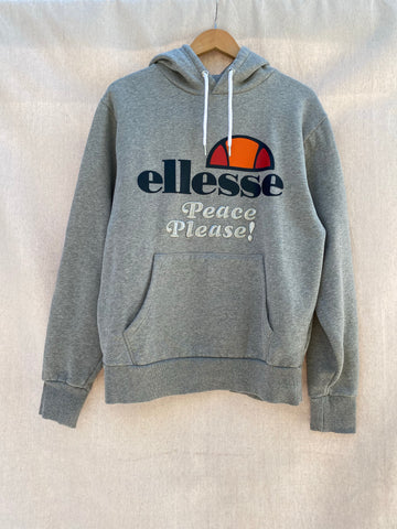 PEACE PLEASE! REWORKED ELLESSE HOODIE
