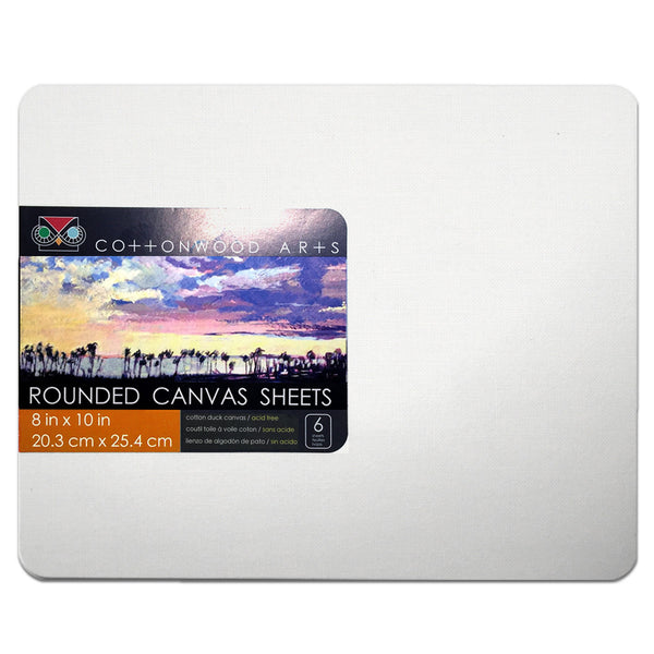 R2 Canvas Sheet Round (8x10)
