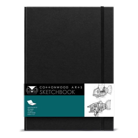 D1 Designer Sketchbook (8.25x11.5)