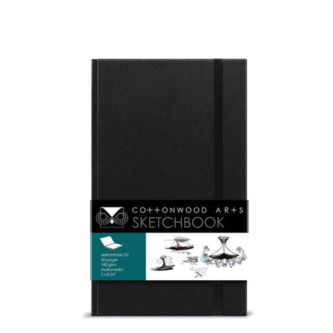 D2 Designer Sketchbook (5.25x8.5)