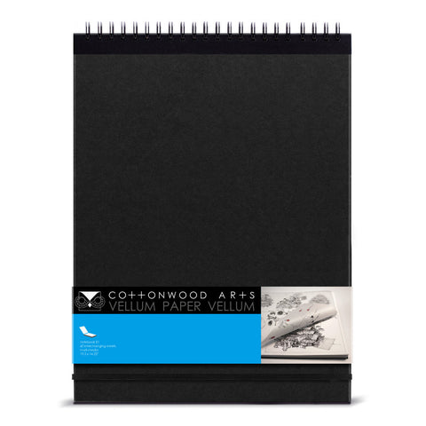 E1 Vellum Paper Notebook (11x14)