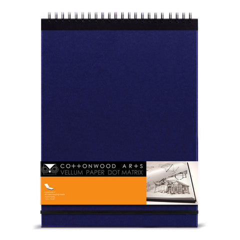F1 Vellum Dot Matrix Notebook (11x14)