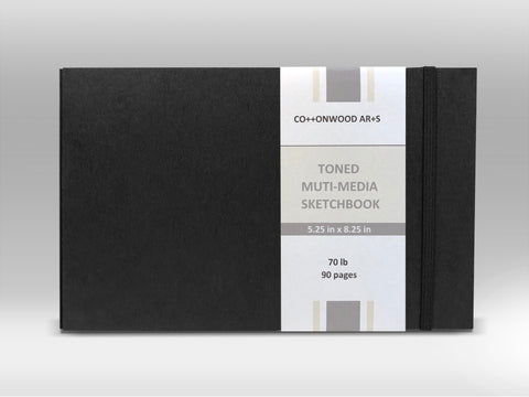 H3 Toned Multi-Media Sketchbook (5.25x8.25)
