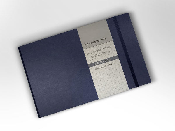 F3 Vellum Dot Matrix Notebook (6.25x9.5)