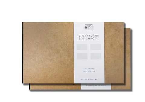 Storyboard Sketchbook 2x2 (2 books)
