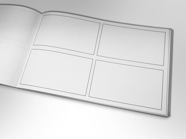 Storyboard Sketchbook 2x2
