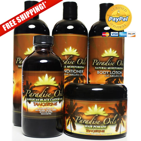 Paradise Oils Complete Care Bundle - Tangerine
