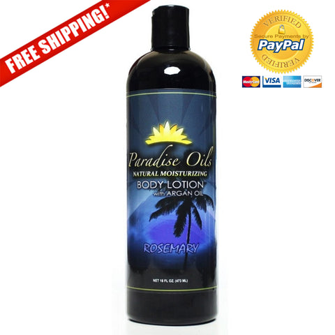 Paradise Oils Natural Moisturizing Body Lotion - Rosemary