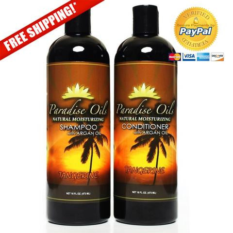 Paradise Oils Shower Pack - Tangerine